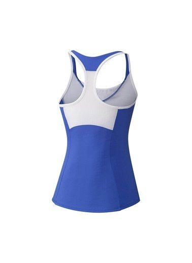 Mizuno Printed Tank Kadın T-shirt Mavi Mavi
